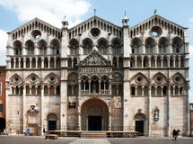 Ferrara cathedral. The historic cathedral of ferrara in italy Royalty Free Stock Image