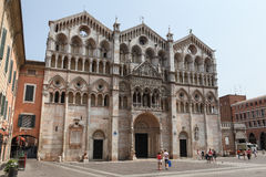 Ferrara Cathedral Stock Photos