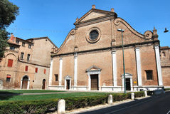 Ferrara church Stock Images