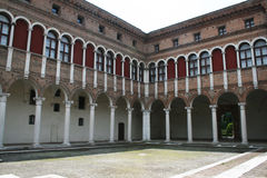 Ferrara court Royalty Free Stock Images