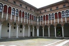Ferrara domstol Royaltyfria Bilder