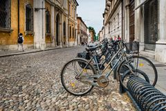 Ferrara, Emilia-Romagna, Italië royalty-vrije stock afbeeldingen