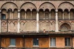 Ferrara Emilia-Romagna, Italien arkivbilder