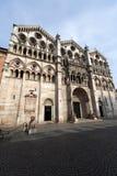 Ferrara (Emilia-Romagna, Italy) -Cathedral Stock Images