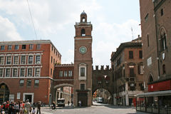 Ferrara gate Stock Photos