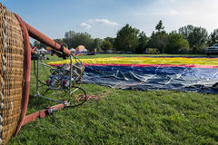Ferrara hincha el festival 2014, Italia Imagenes de archivo