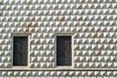 Ferrara - historischer Palast Stockfotos