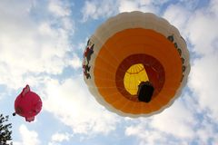 Ferrara Hot Air Balloons Festival 2008 Royalty Free Stock Photos