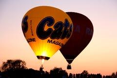 Ferrara Hot Air Balloons Festival 2008 Royalty Free Stock Images