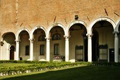Ferrara. Italië stock fotografie