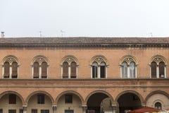 Ferrara (Italien) Arkivbild