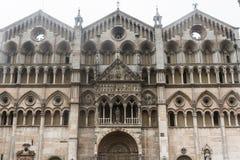 Ferrara (Italien) Arkivfoto
