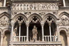 Ferrara (Italy) - The cathedral facade Royalty Free Stock Photos