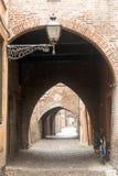 Ferrara (Italy) Royalty Free Stock Photography