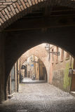 Ferrara (Italy) Royalty Free Stock Photos