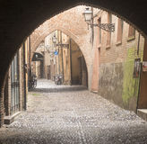 Ferrara (Italy) Stock Photo