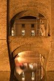 Ferrara (Italy), medieval castle Stock Photography