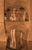 Ferrara (Italy), medieval castle Stock Images