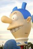 Ferrara, Italy 16 September 2016 - giant hot air balloon in the Stock Photography