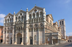 Ferrara kathedraal Royalty-vrije Stock Foto's