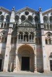 Ferrara-Kathedrale - Ferrara Italien stockfotografie