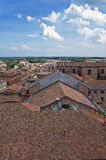 Ferrara. L'Emilia Romagna. L'Italia. Fotografie Stock