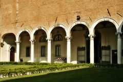 Ferrara. L'Italia fotografia stock