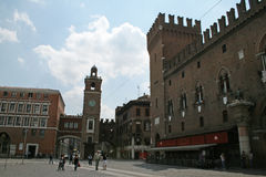 Ferrara landmark Stock Photography