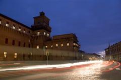 Ferrara lichten Stock Foto