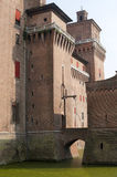 Ferrara - The medieval castle Royalty Free Stock Photography