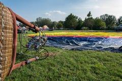 Ferrara steigt Festival 2014, Italien im Ballon auf Stockbilder
