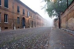 Ferrara street Stock Photos