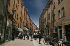 Ferrara street Royalty Free Stock Photography