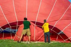 Ferrare monte en ballon le festival 2014, Italie Photos stock