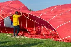 Ferrare monte en ballon le festival 2014, Italie Photographie stock