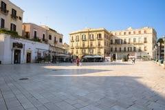 Ferrarese广场在巴里 库存照片