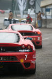Ferrari挑战壳杯子,汽车展示会波隆纳 免版税图库摄影