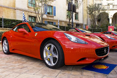 Ferrari显示日- Ferrari加利福尼亚- F149 免版税库存照片