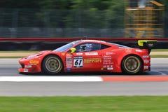 Ferrari ścigać się Zdjęcie Stock