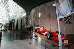 Ferrari świat w abu dhabi obraz stock