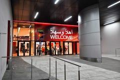 Ferrari świat w Abu Dhabi UAE Obrazy Royalty Free