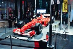 Ferrari świat w Abu Dhabi UAE Obraz Royalty Free