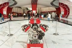 Ferrari Światowy park tematyczny w Abu Dhabi Obraz Stock