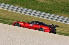Ferrari ημέρα 2015 Ferrari 599 ΧΧ στο κύκλωμα Mugello Στοκ φωτογραφία με δικαίωμα ελεύθερης χρήσης