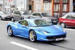 Ferrari 458 Ιταλία Στοκ φωτογραφίες με δικαίωμα ελεύθερης χρήσης