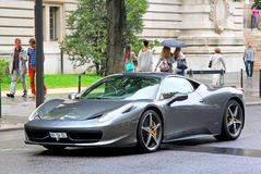 Ferrari 458 Ιταλία Στοκ Φωτογραφίες