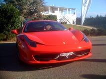 Ferrari 458 Ιταλία Στοκ εικόνες με δικαίωμα ελεύθερης χρήσης