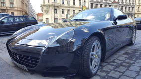 Ferrari στην Πράγα Στοκ Εικόνες