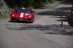 Ferrari 360摩德纳挑战 库存照片
