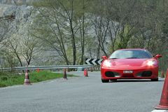 Ferrari_01 Fotografia de Stock Royalty Free
